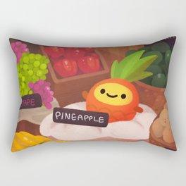 Pineapple NANA in the market Rectangular Pillow