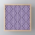 Fragmented Diamond Pattern in Violet by fischerfinearts