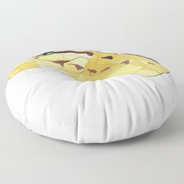 Monty the Ball Python Floor Pillow
