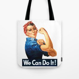 WE CAN DO IT Pop Art Tote Bag