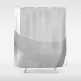 From the Inside Out Black And White Afternoon Vintage Retro Photography I Shower Curtain