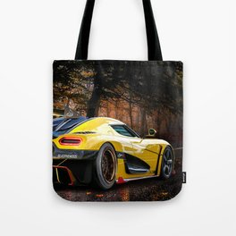 AUTUMN FIRE BREATHING EGG Tote Bag