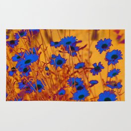 Luminous Daisies Rug