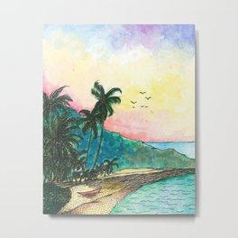 San Blas sunset Metal Print
