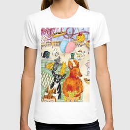 The Dogs Take Over Coney Island T-shirt