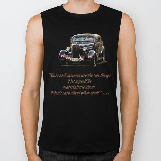 Classic Car Biker Tank