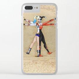 Vitruvian Harley Clear iPhone Case