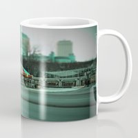 carousel Mugs featuring Carousel by Danielle Podeszek