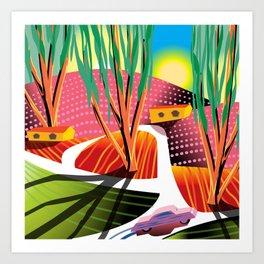 Trip to Elysian Park Art Print