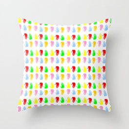 Hand 10 Throw Pillow