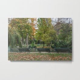 Parc Monceau Paris, France Metal Print