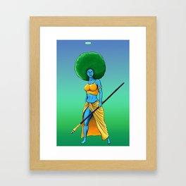 Art Is War (Her) Framed Art Print