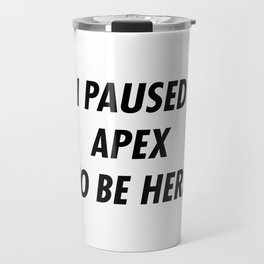 APex Legend Travel Mug