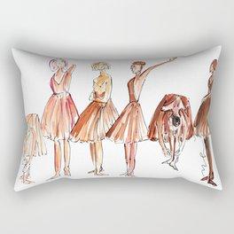 Ballerina Friends Rectangular Pillow