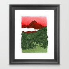 W #1 Framed Art Print