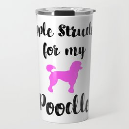 Apple Strudel Poodle Animal Love Germany Typical German Dessert Foodie Travel Mug