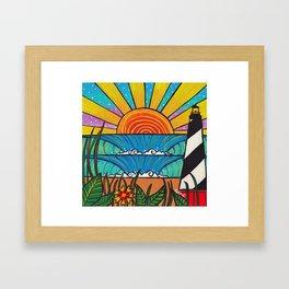 hatteras delight Framed Art Print