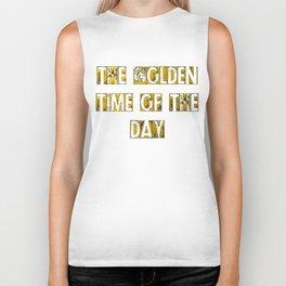 golden time Biker Tank