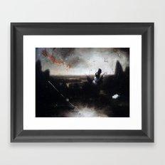 hotter than hell Framed Art Print