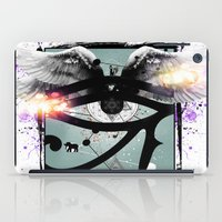 all seeing eye iPad Cases featuring All Seeing Eye by Cody Norris