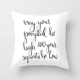 Work it Throw Pillow