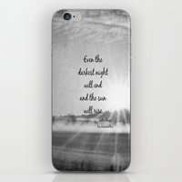 les miserables iPhone & iPod Skins featuring Les Miserables Quote Victor Hugo by KimberosePhotography