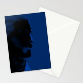 L'homme - midnight Stationery Cards