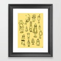 Little Helpers Framed Art Print