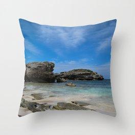 Beach. Throw Pillow