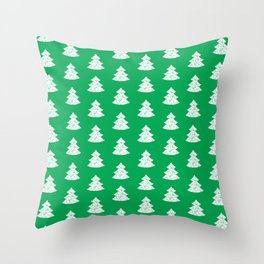 Christmas Tree pattern 2 Throw Pillow