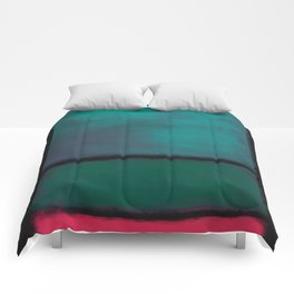 Rothko Inspired #8 Comforters