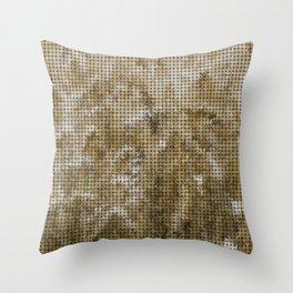 Wheat Weave Pattern Throw Pillow