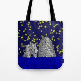 Starry Capri Tote Bag