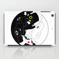 ying yang iPad Cases featuring Ying & Yang by Kurew Kreations