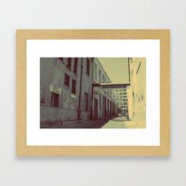 Wrong Way Framed Art Print