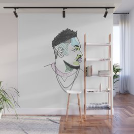 The Rapper-a-Day Project   Day 20: Kendrick Lamar Wall Mural