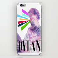 dylan iPhone & iPod Skins featuring Dylan by Coyvan