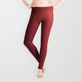 Purple And Light Red Cute Gradient Pattern Leggings