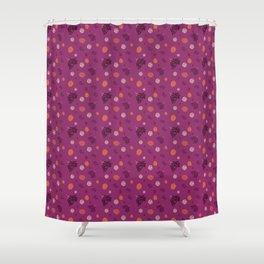 Elderberry fall Shower Curtain