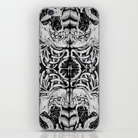 anatomy iPhone & iPod Skins featuring Anatomy by Kate Archer