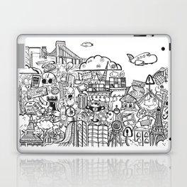 Travel with Pen,so? Laptop & iPad Skin