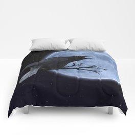 Raven Speak Comforters