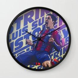 El Pistolero Wall Clock