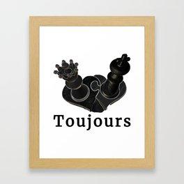 Toujours Framed Art Print
