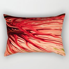 Strawberry Firethorn by Chris Sparks Rectangular Pillow