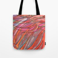 palms Tote Bags featuring Palms by Carla_S