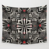 matrix Wall Tapestries featuring Calaabachti Matrix by Obvious Warrior