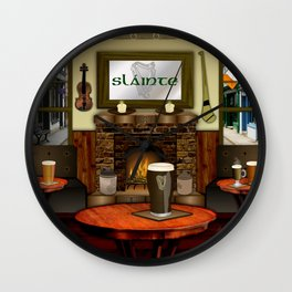 Irish Pub Wall Clock