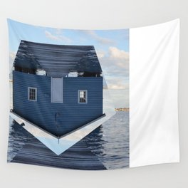 Down Under // Boatshed. Wall Tapestry
