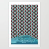koi Art Prints featuring Koi by John Tibbott